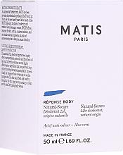 Парфюмерия и Козметика Дезодорант - Matis Reponse Body Deodorant