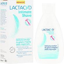 Парфюмерия и Козметика Деликатна емулсия за интимна хигиена и бръснене на интимна зона - Lactacyd Intimate Shave