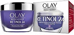 Парфюмерия и Козметика Нощен хидратиращ крем за лице - Olay Regenerist Retinol24 Cream Night Moisturiser
