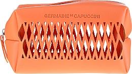 Парфюмерия и Козметика Комплект за лице - Germaine de Capuccini TimExpert C+ (околоочен крем/15ml + емулсия/50ml + козм. чанта)