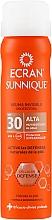 Парфюмерия и Козметика Прозрачен слънцезащитен спрей - Ecran Sunnique Spray Protection SPF30