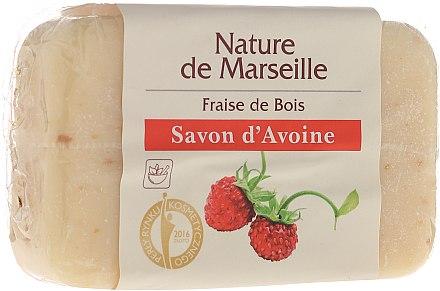 Овесен сапун с аромат на ягода - Nature de Marseille Soap — снимка N1