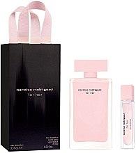 Парфюмерия и Козметика Narciso Rodriguez For Her Set - Комплект парфюмна вода (edp/100ml + edp/mini/10ml)