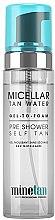 Парфюми, Парфюмерия, козметика Мицеларна вода с бронзиращ ефект - MineTan Micellar Tan Water