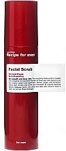 Парфюмерия и Козметика Освежаващ скраб за лице за мъже - Recipe For Men Facial Scrub
