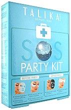 Парфюмерия и Козметика Комплект маски за лице - Talika SOS Party Kit (mask/20g + eye/patch/2x2бр. + mask/25g)