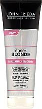 Парфюмерия и Козметика Балсам за блясък на светла коса - John Frieda Sheer Blonde Brilliantly Brighter Conditioner