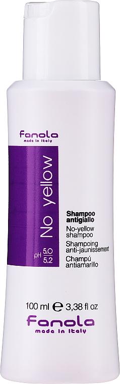 Шампоан за неутрализиране на жълти оттенъци - Fanola No-Yellow Shampoo