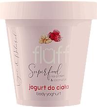 """Парфюмерия и Козметика Йогурт за тяло """"Малина и бадем"""" - Fluff Body Yogurt Raspberries and Almonds"""