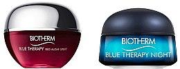 Парфюмерия и Козметика Комплект за лице - Biotherm Mini Blue Therapy (дневен крем/15ml + нощен крем/15ml)