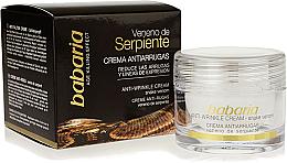 Парфюми, Парфюмерия, козметика Крем за лице против бръчки със змийска отрова - Babaria Anti-Wrinkle Snake Venom Facial Cream