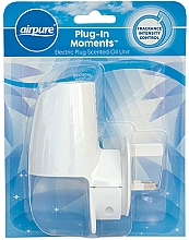 Парфюмерия и Козметика Електрически дифузер - Airpure Plug-In Moments Unit