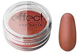 Парфюмерия и Козметика Пудра за нокти - Silcare Red Satine Effect Powder