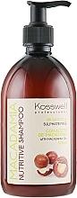 Парфюмерия и Козметика Подхранващ шампоан за коса с масло от макадамия - Kosswell Professional Macadamia Nutritive Shampoo Sulfate Free