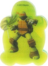 """Парфюми, Парфюмерия, козметика Детска гъба за баня """"Костенурката нинджа"""" Микеланджело 5 - Suavipiel Turtles Bath Sponge"""