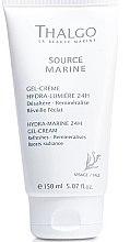 Парфюмерия и Козметика Гел-крем за лице морско овлажняване 24ч - Thalgo Hydra-Marine 24h Gel-Cream Salon Size