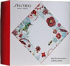Парфюми, Парфюмерия, козметика Комплект - Shiseido Bio Performance LiftDynamic Holiday Kit (крем за лице/50ml + почист. пяна/15ml + лосион за лице/30ml + концентрат/5ml)