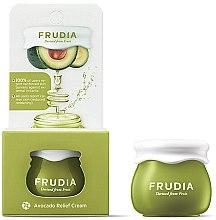 Парфюмерия и Козметика Възстановяващ крем за лице с екстракт от авокадо - Frudia Relief Avocado Cream (мини)