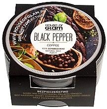 """Парфюмерия и Козметика Соева ароматна свещ """"Черен пипер и кафе"""" - House of Glam Black Pepper & Coffee Candle (мини)"""