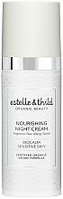 Парфюмерия и Козметика Подхранващ нощен крем за лице - Estelle & Thild BioCalm Nourishing Night Cream