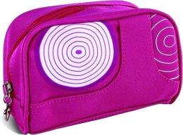 """Парфюми, Парфюмерия, козметика Козметична розова чанта с принт """"Спирали"""", правоъгълна - Donegal Cosmetic Bag"""