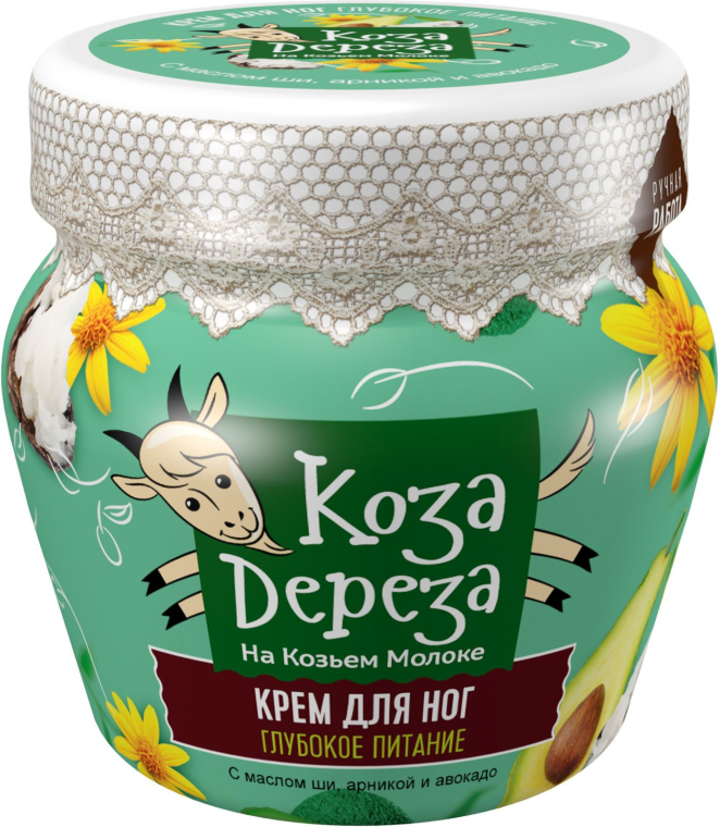 Дълбоко подхранващ крем за крака - Fito Козметик Коза дереза