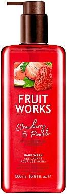 "Сапун за ръце ""Ягода и Помело"" - Grace Cole Fruit Works Hand Wash Strawberry & Pomelo — снимка N1"