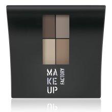Парфюми, Парфюмерия, козметика Матови сенки за очи - Make Up Factory Mat Eye Colors