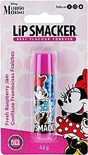Парфюми, Парфюмерия, козметика Балсам за устни с аромат на малинов конфитюр - Lip Smacker Disney Minnie Mouse Fresh Raspberry Jam