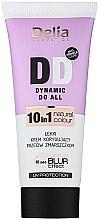Парфюми, Парфюмерия, козметика Многофункционален крем за лице - Delia Cosmetics DD Dynamic Do All 10 in 1
