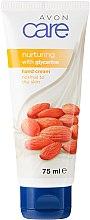 Парфюми, Парфюмерия, козметика Крем за ръце с глицерин и бадемово масло - Avon Care Nurturing Hand Cream
