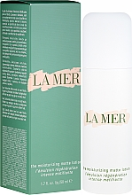 Парфюмерия и Козметика Овлажняващ лосион с матиращ ефект - La Mer Moisturizing Matte Lotion