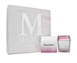 Парфюмерия и Козметика Max Mara Silk Touch - Комплект (edt 40ml + свещ 70g)