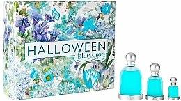 Парфюмерия и Козметика Jesus Del Pozo Halloween Blue Drop - Комплект тоалетна вода (edt/100ml + edt/30ml + edt/4.5ml)