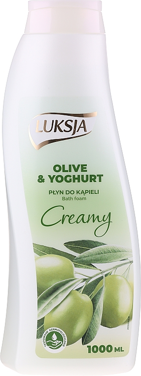"Пяна за вана ""Маслини и йогурт"" - Luksja Creamy Olive & Yoghurt Bath Foam — снимка N1"