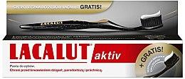 Парфюми, Парфюмерия, козметика Комплект за зъби - Lacalut Aktiv (паста 75ml + четка 1 бр.)