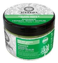 Парфюмерия и Козметика Скраб за тяло - Natura Siberica Iceveda Iceland Moss&Indian Amla Radiance Herbal Body Scrub