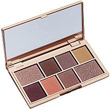 Палитра сенки за очи, 8 цвята - Makeup Revolution I Heart Revolution Mini Eyeshadow Palette — снимка N3