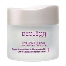 Парфюми, Парфюмерия, козметика Овлажняващ обогатен крем 24ч - Decleor Hydra Floral Multi-Protection Cream Riche 24h