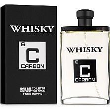 Парфюмерия и Козметика Evaflor Whisky Carbon Pour Homme - Тоалетна вода