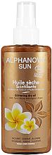 Парфюмерия и Козметика Озаряващо масло за тен - Alphanova Sun Oil Dry Sparkling