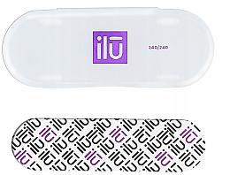 Парфюми, Парфюмерия, козметика Пила за нокти, в калъф - Ilu Nail File With Case Mini 240/240