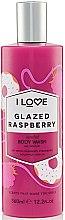 Парфюмерия и Козметика Душ гел с аромат на глазирана малина - I Love Glazed Raspberry Body Wash
