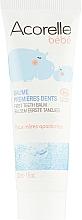Парфюмерия и Козметика Органичен успокояващ балсам за уста, за първи зъбки - Acorelle Soothing Organic Oral Balm