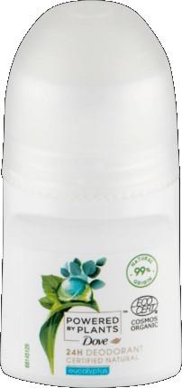 Рол-он дезодорант - Dove Powered by Plants Eucalyptus 24H Deodorant — снимка N1