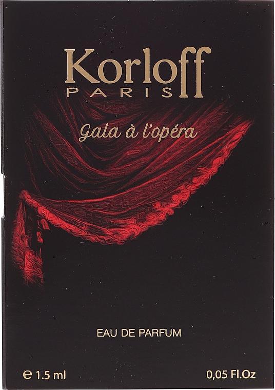 Korloff Paris Gala A L'Opera - Парфюмна вода (мостра)