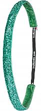 """Парфюмерия и Козметика Лента-ластик за коса """"Tropical Green Glitter"""" - Ivybands"""
