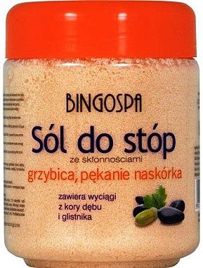 Соли за крака склонни към гъбични инфекции и груба кожа - BingoSpa Salt For Feet