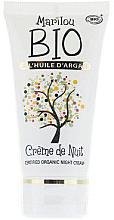 Парфюми, Парфюмерия, козметика Нощен подмладяващ крем за лице - Marilou Bio Creme de Nuit Anti-Age