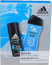 Парфюми, Парфюмерия, козметика Комплект за мъже - Adidas After Sport (део/150ml + душ гел/250ml)